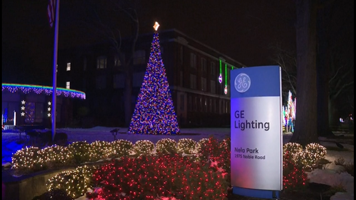 Cleveland Christmas Lighting 2021 Nela Park Holiday Lights How You Can See Them This Year Wkyc Com