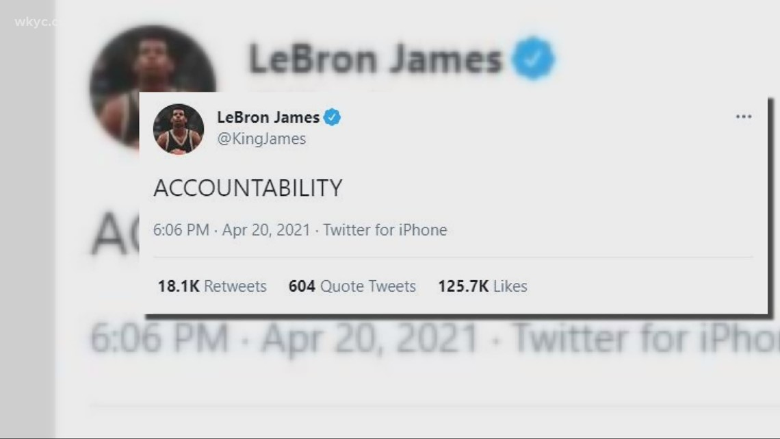 LeBron James, Cleveland athletes and influencers react to the Derek Chauvin guilty verdict for George Floyd's murder