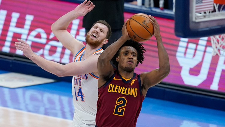 Collin Sexton scores 27 points, Cleveland Cavaliers beat Oklahoma City Thunder 129-102