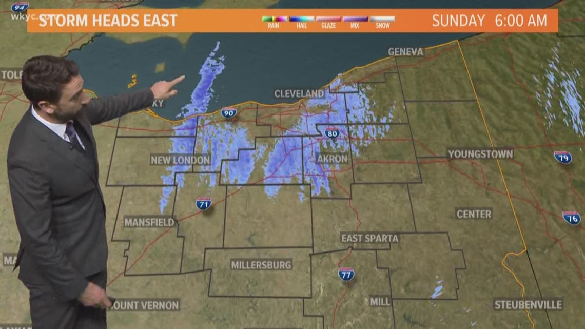 FORECAST | Snowstorm Winds Down, Lake Effect Snow Takes Over