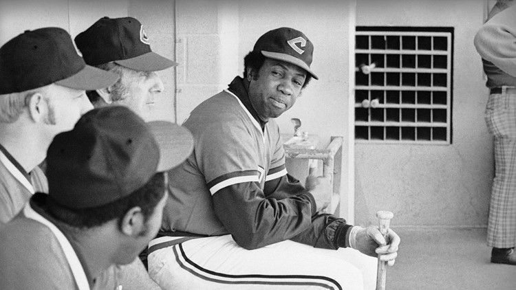 Indians Frank Robinson 1975
