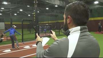 Program helps fix pitching mechanics for kids
