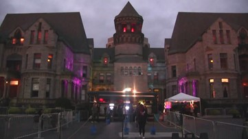 Mansfield Reformatory haunted house: Escape From Blood Prison 2019