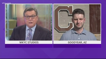 WKYC.com's Ben Axelrod provides update on Tribe from Goodyear, AZ
