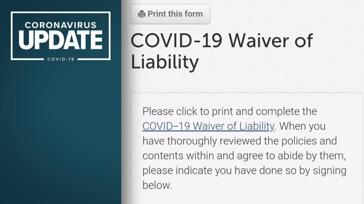 Should school athletes have to sign COVID-19 waivers?