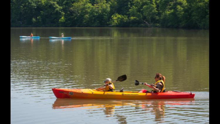 Learn fun water activities at Metroparks' Hinckley Lake