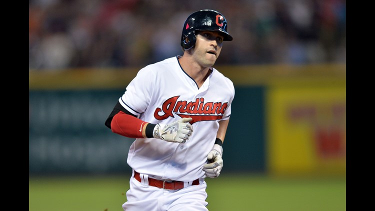The Cleveland Indians have seen plenty of improvement from second-year outfielder Tyler Naquin.