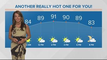 Morning weather forecast for September 5, 2018