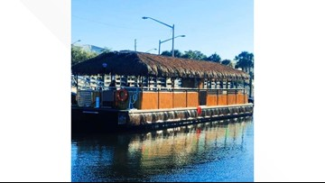 Floating tiki bar to debut in Cleveland this June