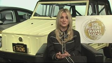 """Kaley Cuoco - Shell & The Big Bang Theory's Kaley Cuoco bring you """"The Great Travel Hack"""""""