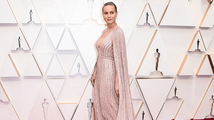 Brie Larson 2020 Oscars red carpet