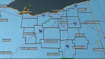 ALERT | Winter Weather Advisory issued ahead of snow, freezing rain across NEO