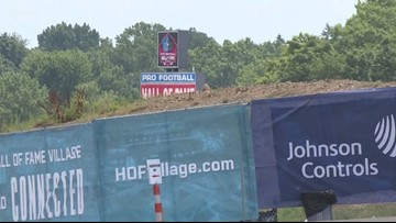Pro Football Hall of Fame Village delays frustrate neighbors in Canton