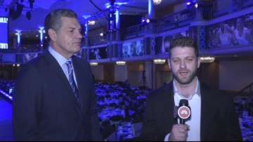 ESPN's Mike Golic talks to 3News about hosting 20th Greater Cleveland Sports Awards