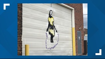 Does Cleveland have its own Banksy? Work of local graffiti artist keeps popping up overnight.