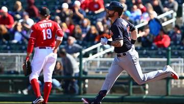 WATCH | Tyler Naquin belts Indians' 1st home run of spring training season