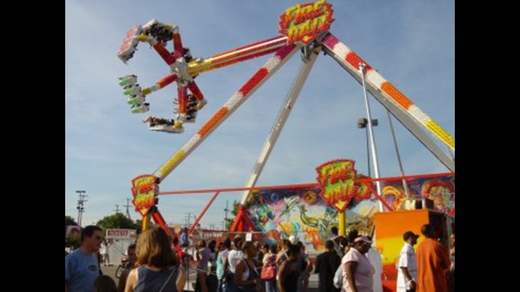 <p>The 'Fire Ball' ride that had a fatal malfunction at the Ohio State Fair is one of the most widely seen major attractions at large fairs. </p>