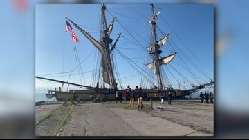 SIGHTS & SOUNDS | Day 1 of Tall Ships festival in Cleveland