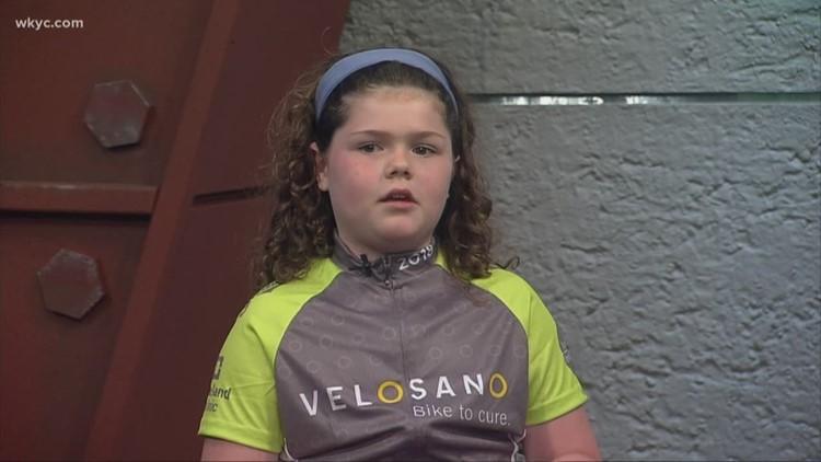 Cancer survivor 'Amazing Maisie' to ride Velosano