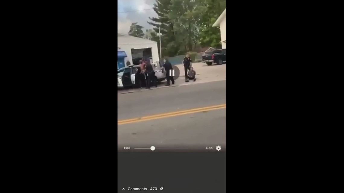 Mansfield officer dragging handcuffed teenager
