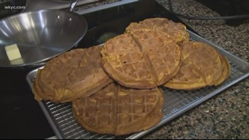 Recipe: Pumpkin spice waffles at Western Reserve School of Cooking