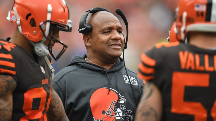 Former Cleveland Browns coach Hue Jackson fired by Cincinnati Bengals 2
