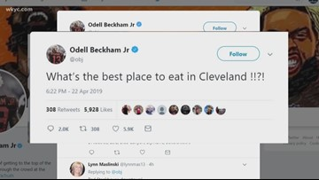 Odell Beckham Jr. wants your advice: What's the best restaurant in Cleveland?
