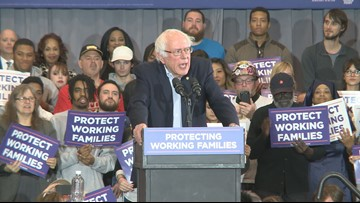 Bernie Sanders promises to win back Midwest states President Trump captured, including Ohio