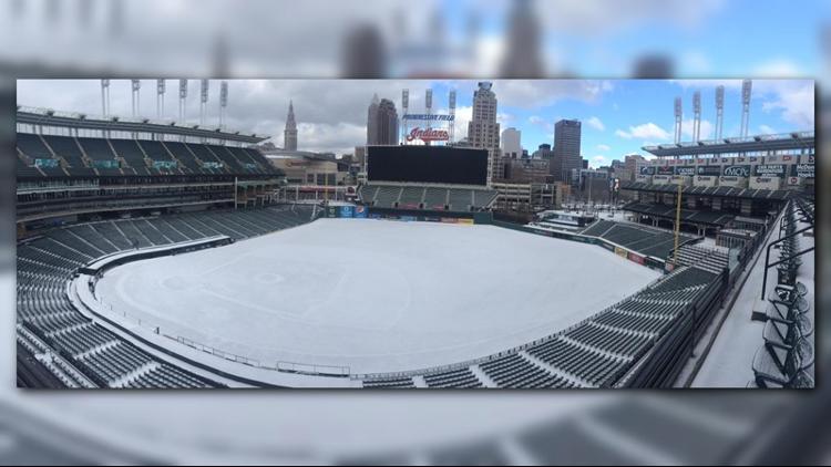 Snow will never be good for baseball.