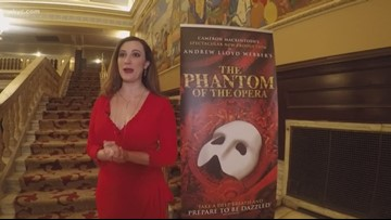 Baldwin Wallace grad returns to Cleveland in 'Phantom of the Opera'