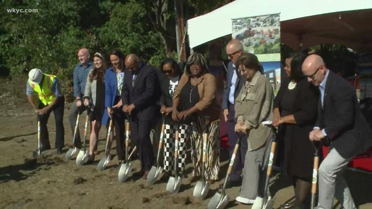 LeBron James Family Foundation breaks ground on I PROMISE Housing in Akron