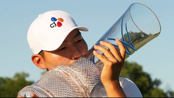 Sung Kang rallies again at Byron Nelson for first PGA Tour victory