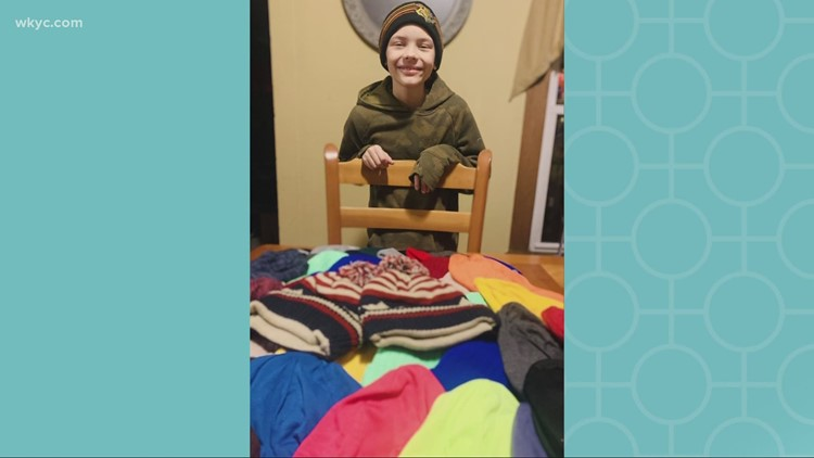Hats of Hope: 10-year-old Stark County brain cancer patient sets out to help other sick kids