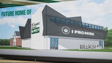 LeBron James surprises I PROMISE School students in Akron with $1 million for new gym