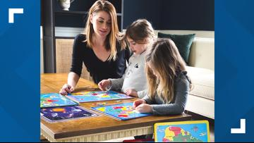 Mom Squad: Turning a puzzle into a geography lesson