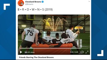 WATCH | Cleveland Browns go viral with hilarious 'Friends' parody video
