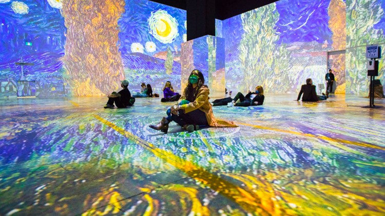 Immersive Van Gogh exhibit set to launch in Cleveland on Wednesday