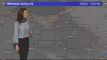 11 p.m. weather forecast for March 22, 2019