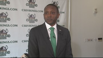 New Cleveland State basketball coach Dennis Gates discusses Northeast Ohio recruiting