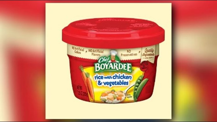 Image result for Chef Boyardee Products Recalled Due To Packaging Mix-Up