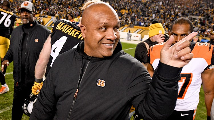 Hue Jackson Cincinnati Bengals-Pittsburgh Steelers Football