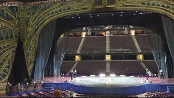 Cirque Du Soleil's  Corteo is in town