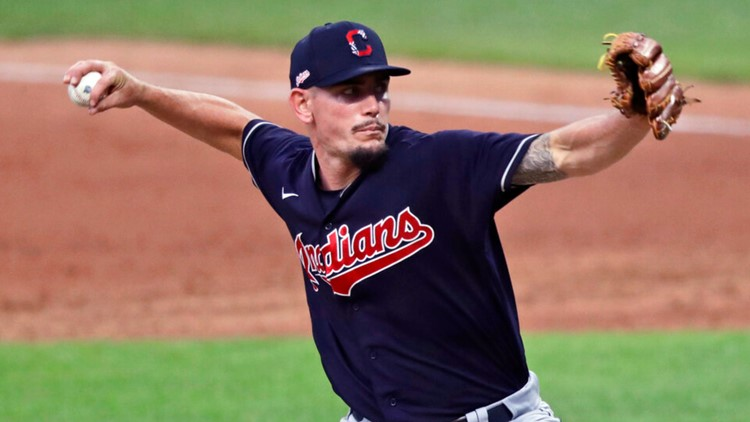 Cleveland Indians pitcher Nick Wittgren talks dad life after welcoming second child: 'Beyond the Dugout' interview