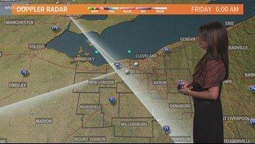 Late morning Northeast Ohio weather forecast for Aug. 16, 2019