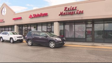 Authorities raid more than a dozen Northeast Ohio massage parlors in human trafficking probe