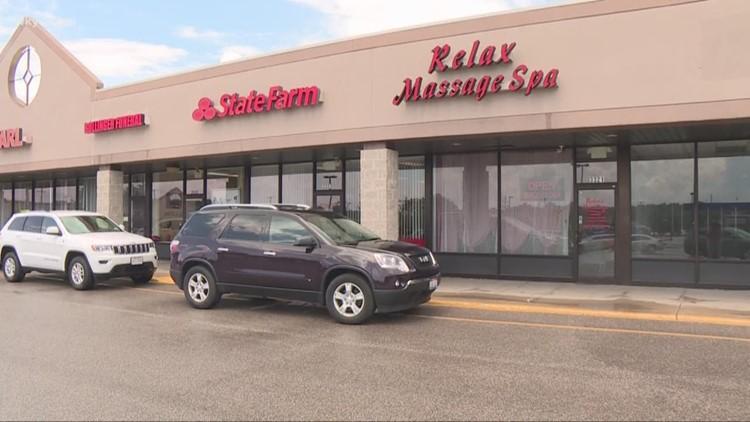 Authorities raid more than a dozen Northeast Ohio massage parlors in human trafficking probe