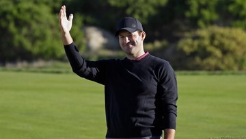 Tony Romo successfully defends celebrity golf title