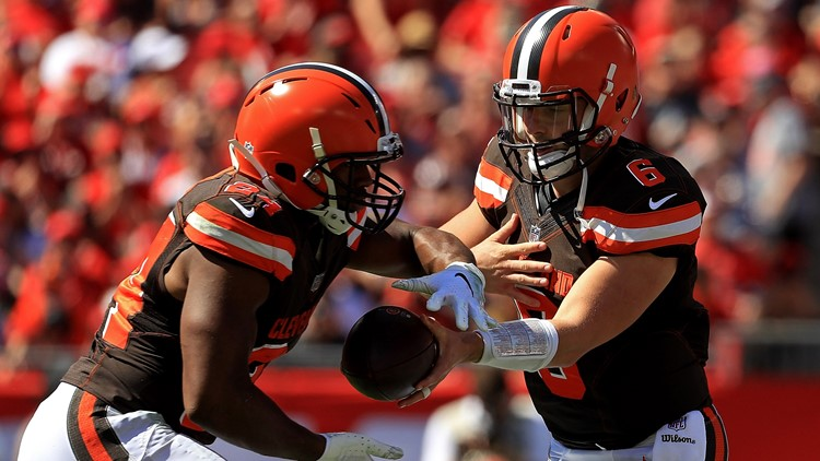 Cleveland Browns Nick Chubb, Baker Mayfield nominated for NFL Rookie of the Year
