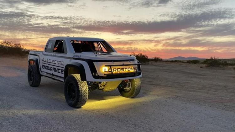 Lordstown Motors reveals Endurance racing truck prior to San Felipe 250 in Mexico