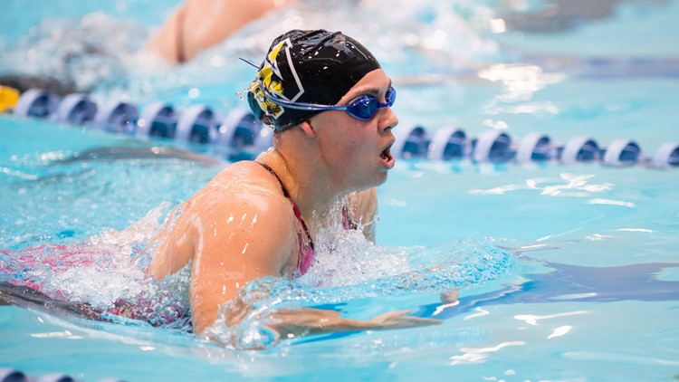 College of Wooster swimmer Molly Likins 4
